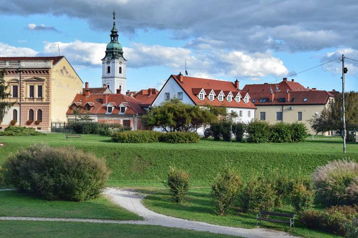 Središnji dio grada Karlovca