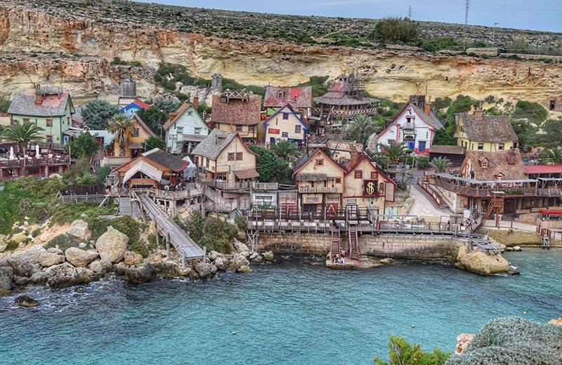 Popajevo selo: Legendarni lik iz crtića ima svoj mali grad na Malti