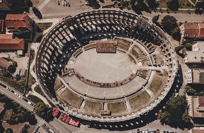 Impresivni amfiteatar u Puli izgrađen je zbog ljubavne priče između cara i robinje