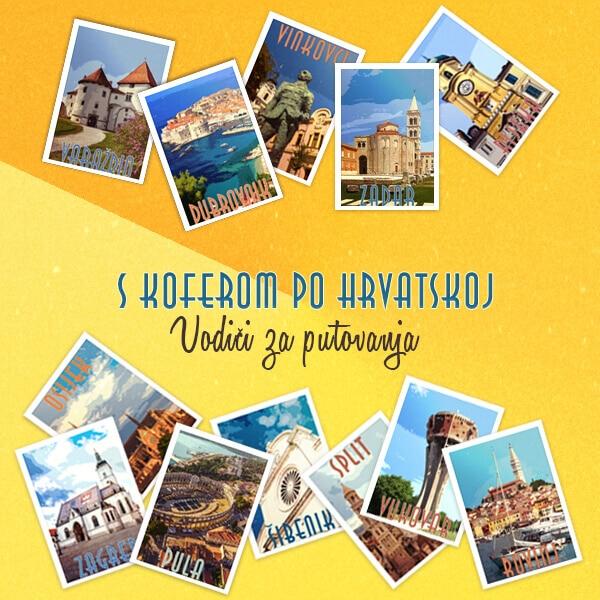 Vodiči za putovanja Hrvatskom