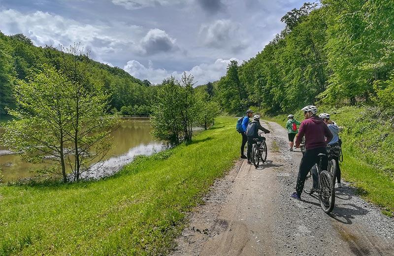 Biciklom po Moslavačkoj gori: Zbog predivne prirode isplatila se svaka kap znoja