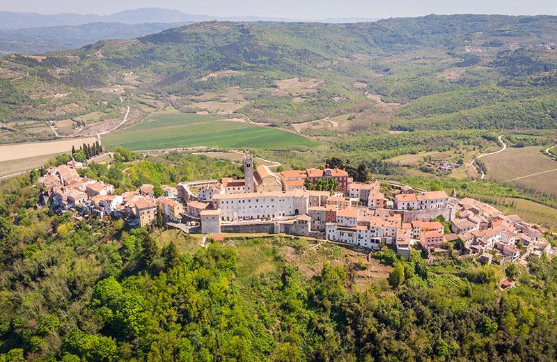 Grad Motovun u Istri