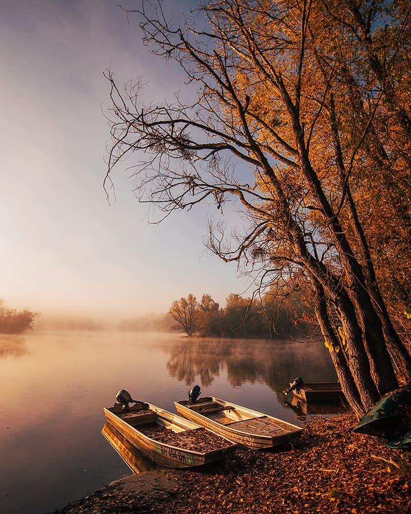 Kasna jesen u parku prirode Kopački rit