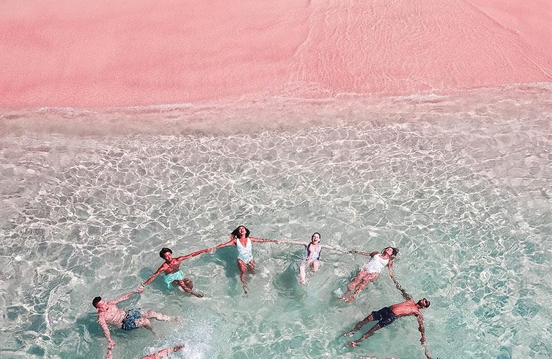 Najljepše ružičaste plaže: Prizori kao s druge planete