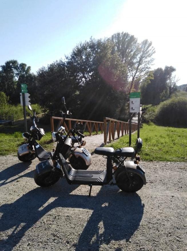 Vožnja električnim skuterom u Baranji